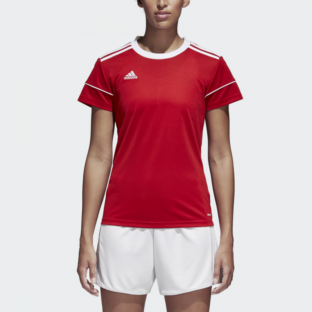 Maillot Femme Rouge Squad 17