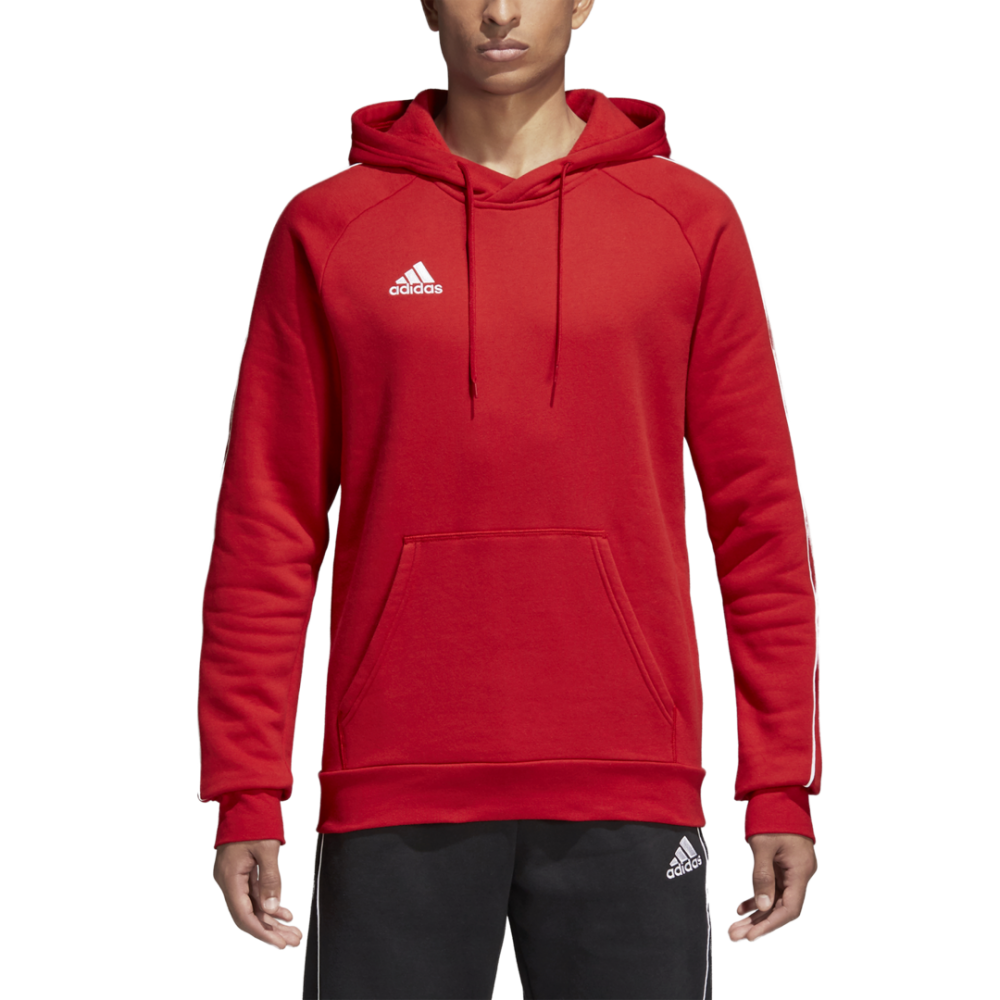 Sweat A Capuche Rouge Core18