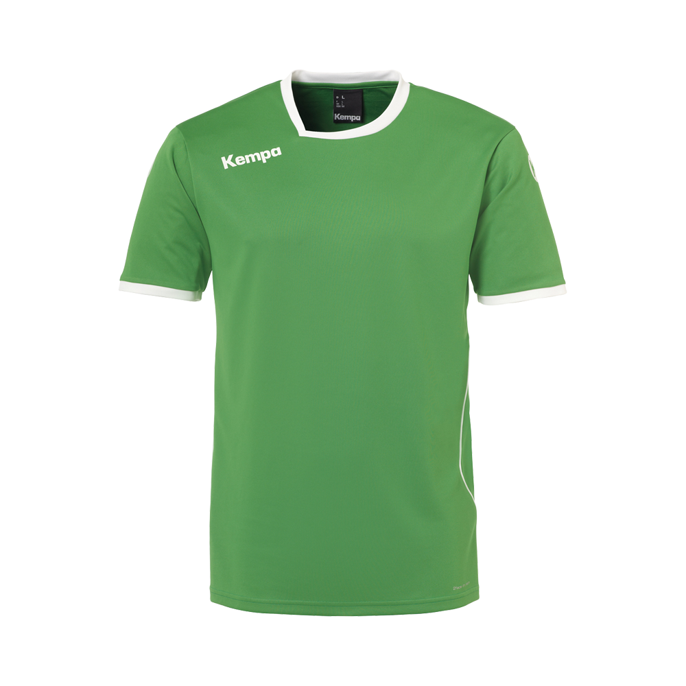 Maillot Curve vert/blanc