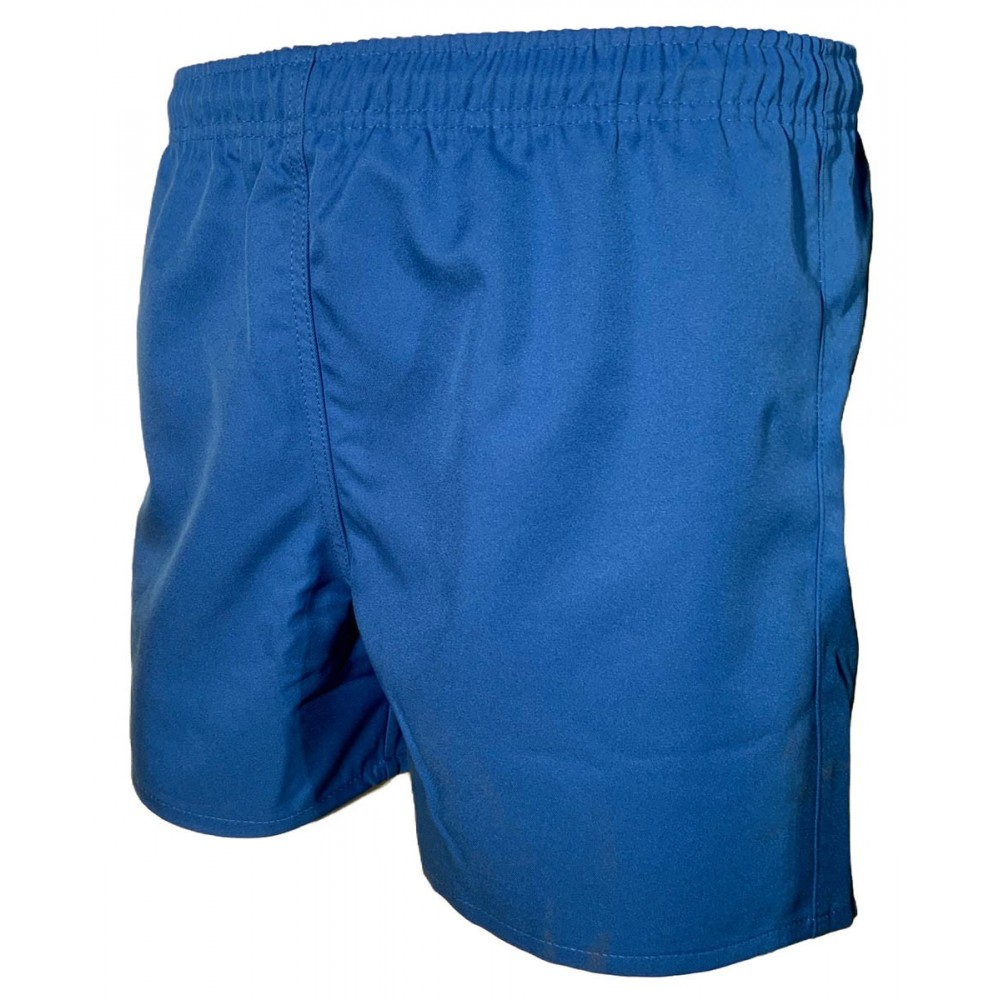 SHORT RUGBY ENFANT BLEU ROYAL