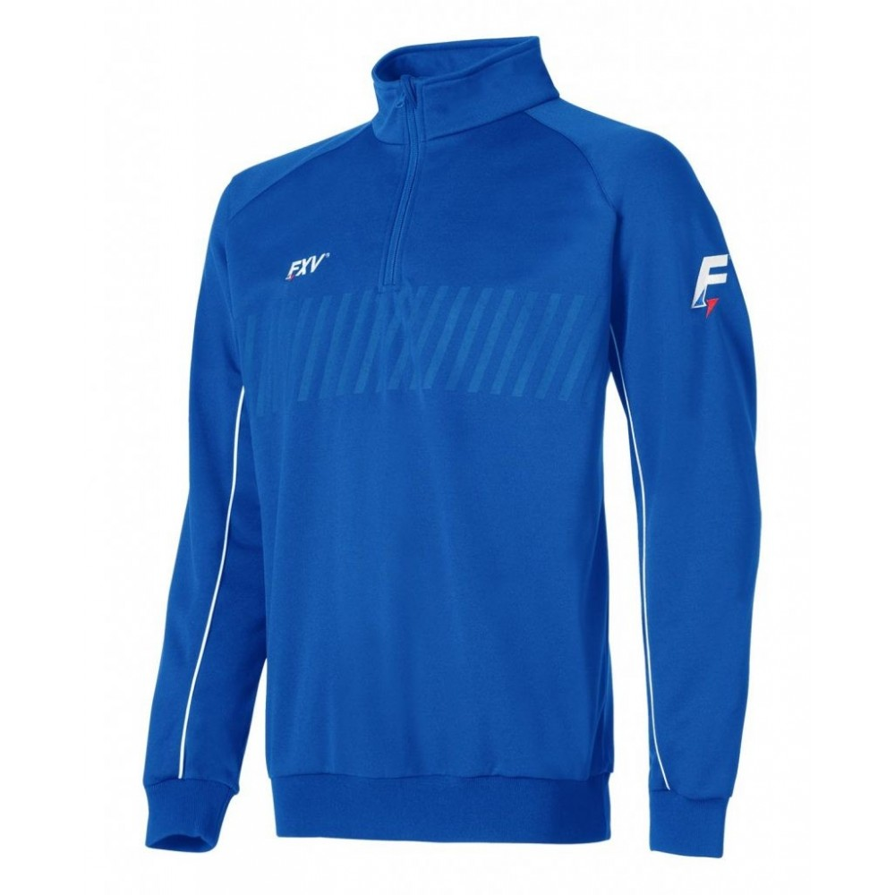 Sweat 1/2 zip action royal