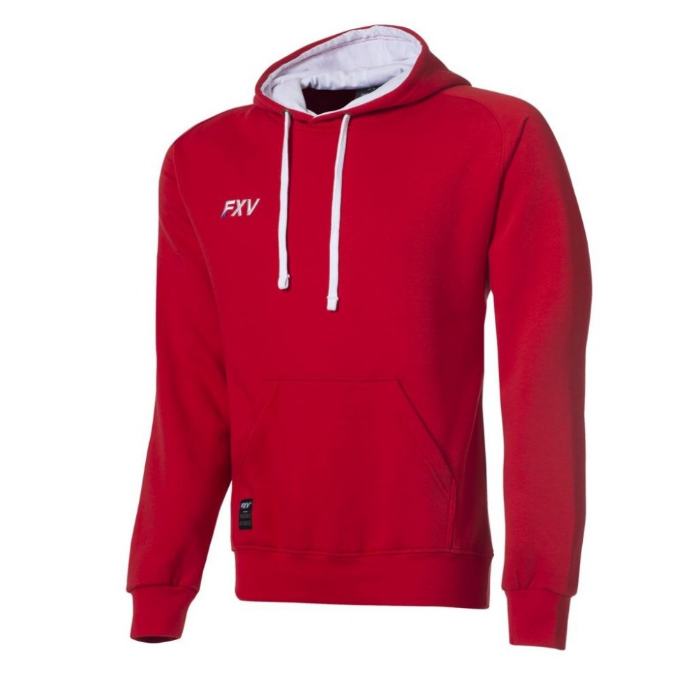 Sweat capuche Force rouge