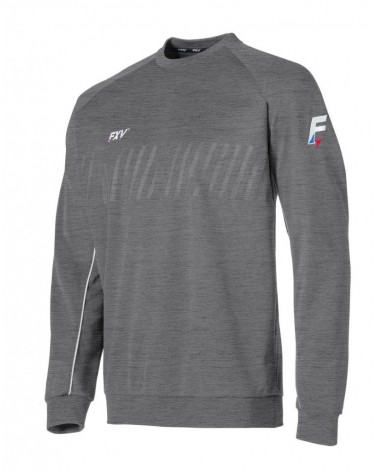 Sweat col rond actiongris...