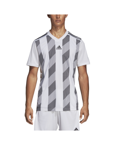 Maillot Blanc Striped19