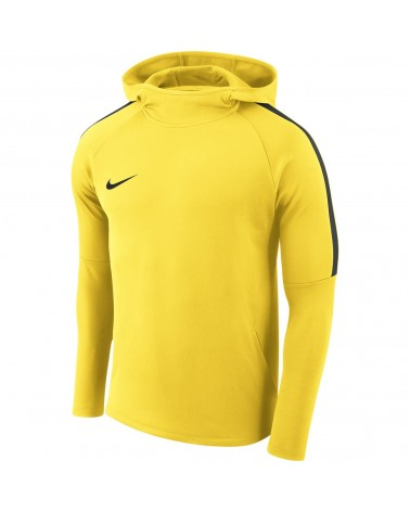 Sweat a capuche jaune...