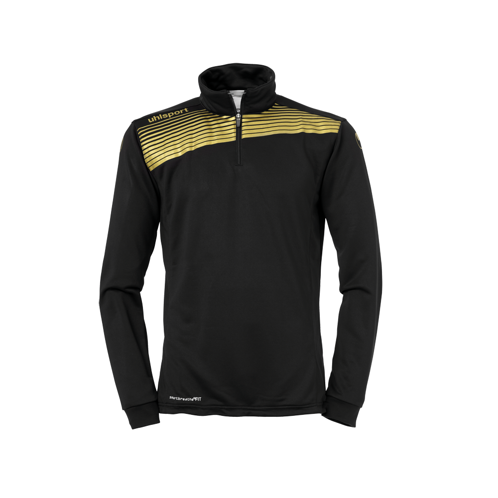 LIGA 2.0 1/4 ZIP noir/or