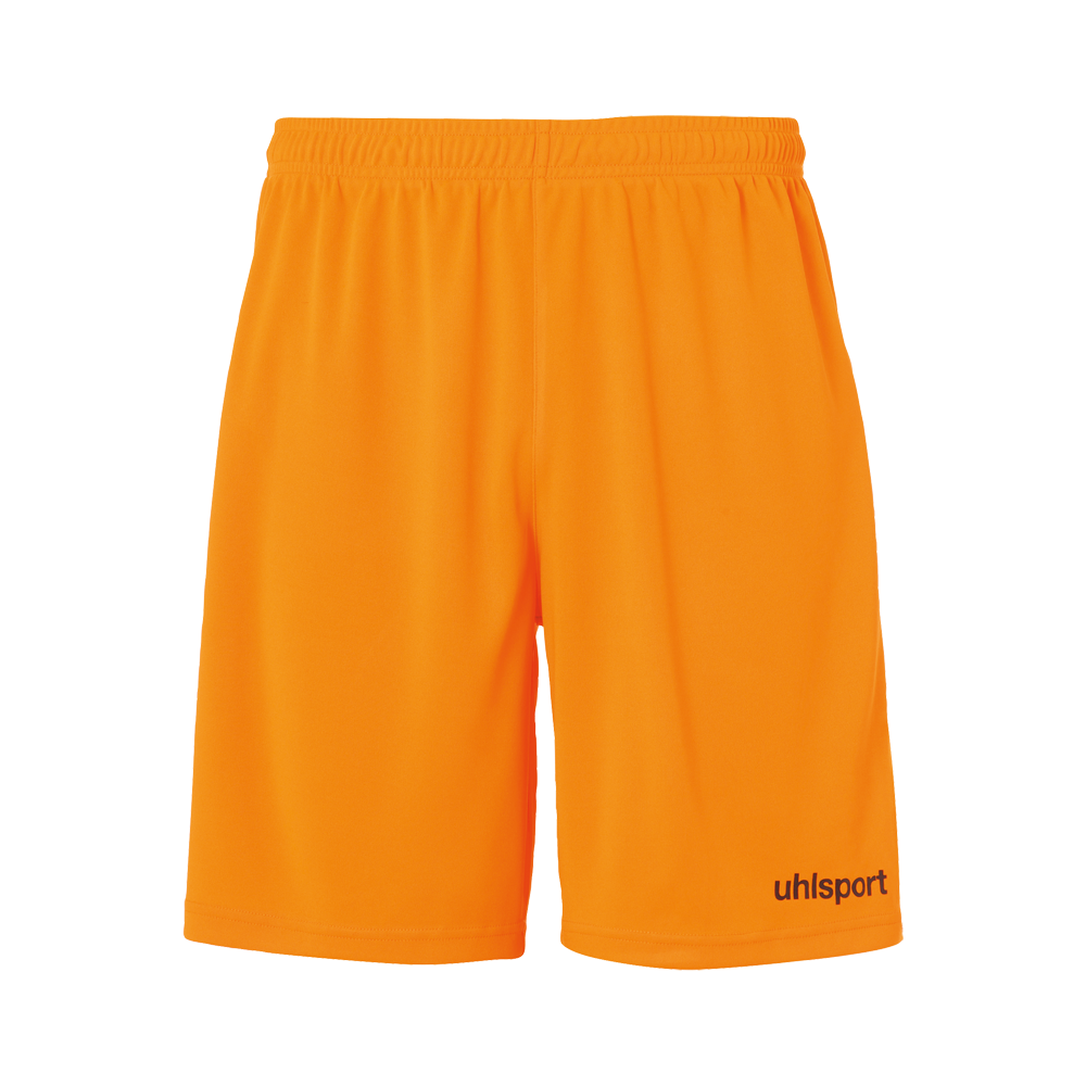 SHORT orange fluo/noir