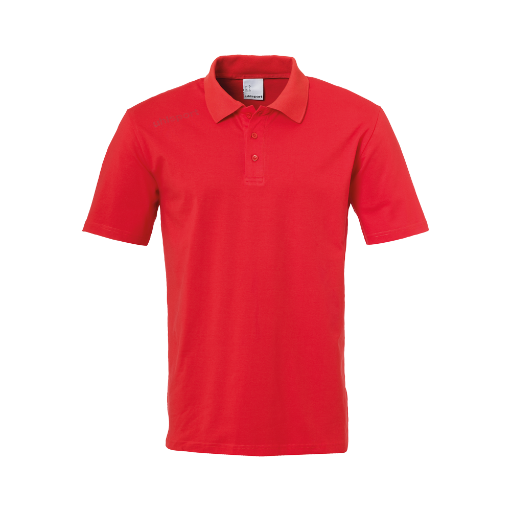 ESSENTIAL Polo rouge