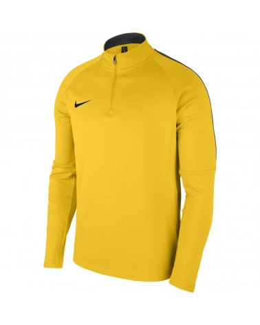 Sweat 1/4 zip jaune Academy 18