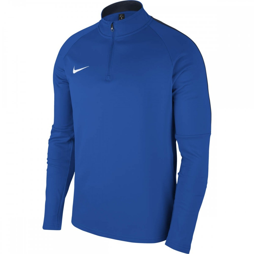 Sweat 1/4 zip bleu royal...