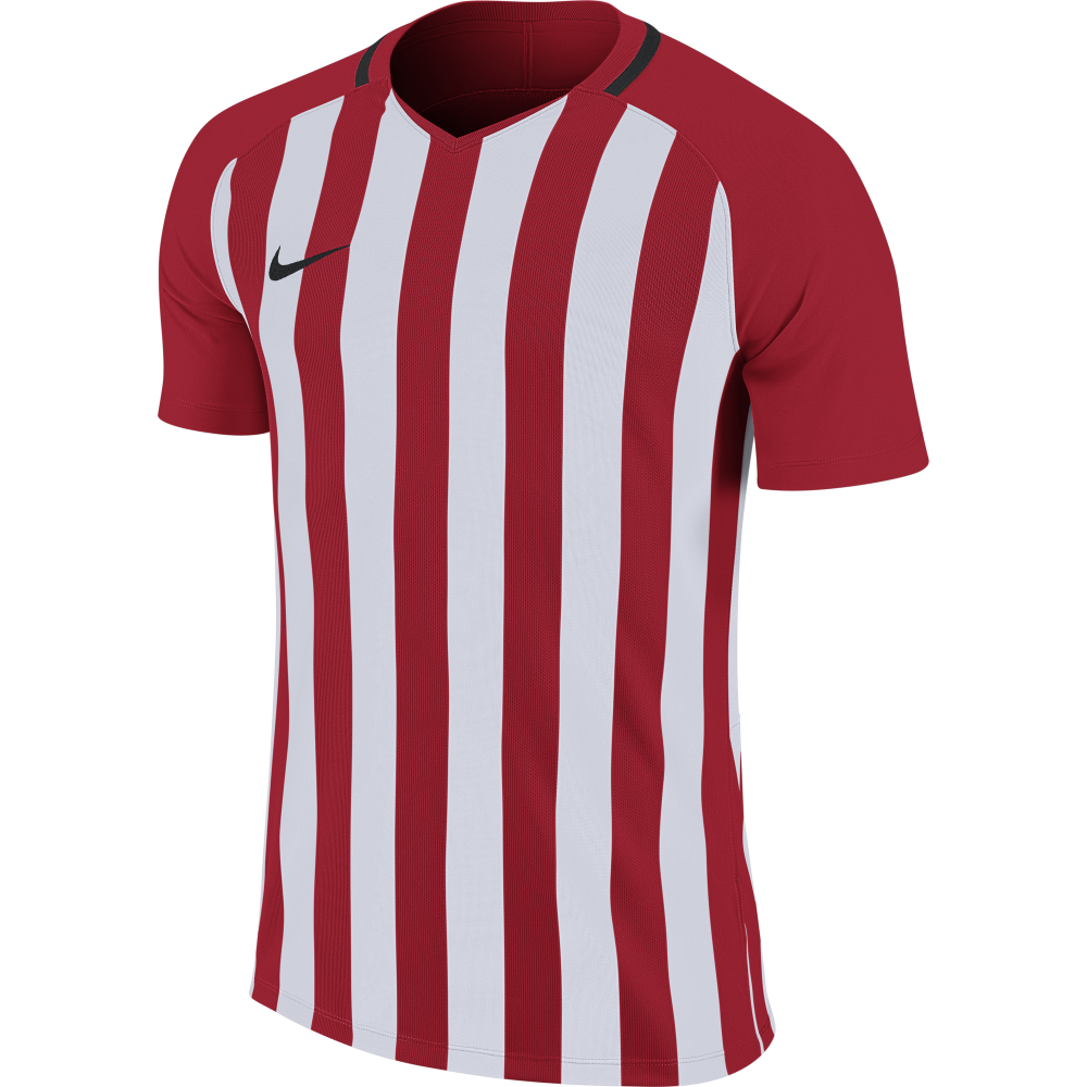Maillot rouge/blanc Striped...