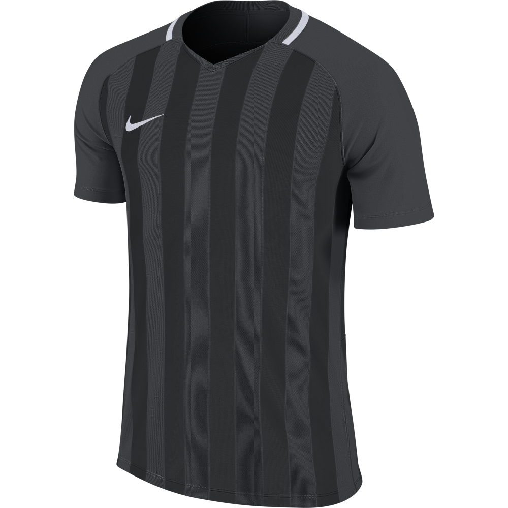 Maillot noir/gris Striped...