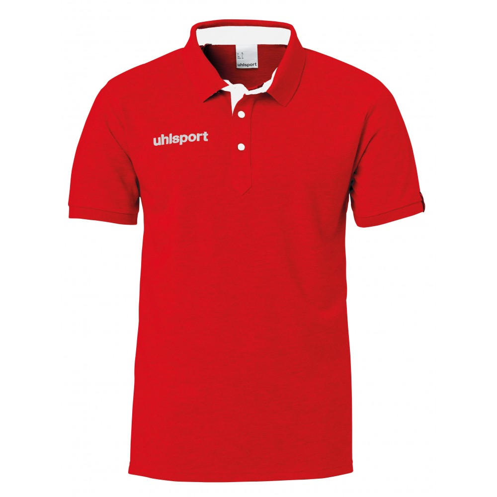 ESSENTIAL PRIME POLO rouge
