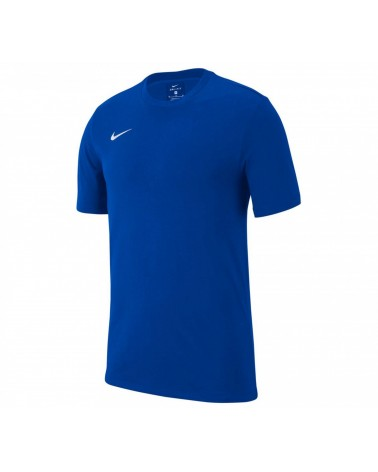 T-shirt bleu royal Club 19