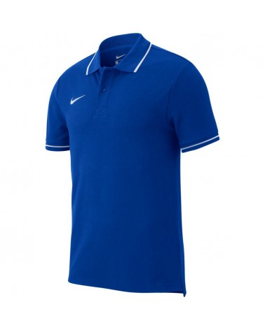 Polo enfant bleu royal Club 19
