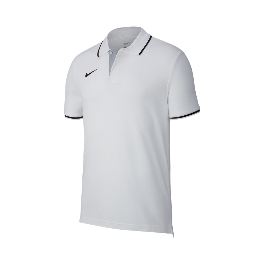 Polo enfant blanc Club 19