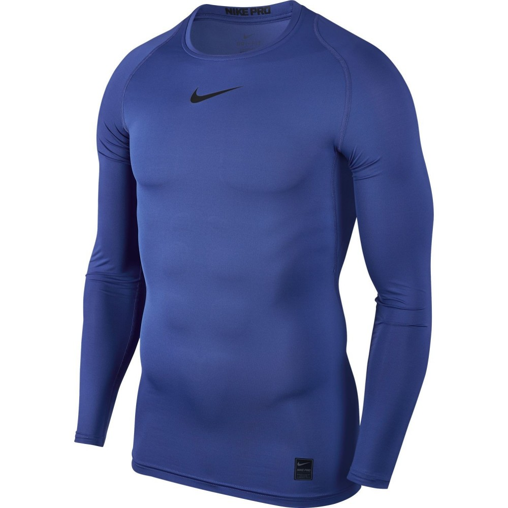 Top de compression bleu...